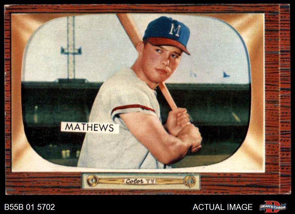 1955 Bowman Baseball 50 Card Starter Set Lot 55 Ex
