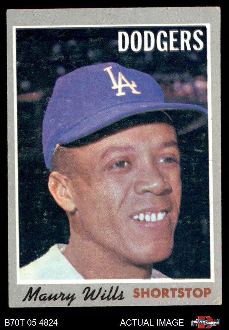 1970 Topps 1970 Topps Los Angeles Dodgers Team Set