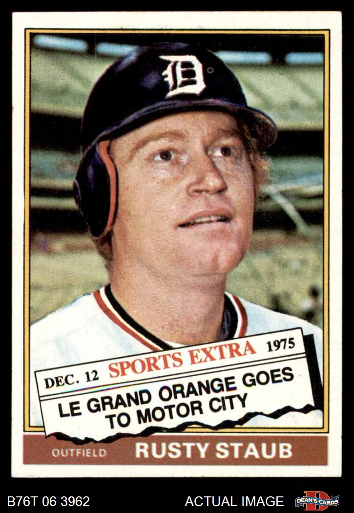 1976 Topps 1976 Topps Detroit Tigers Team Set