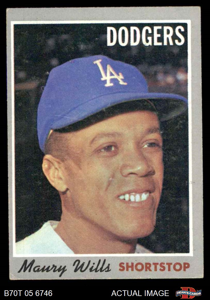 1970 Topps #641 Al McBean Los Angeles Dodgers Baseball Card