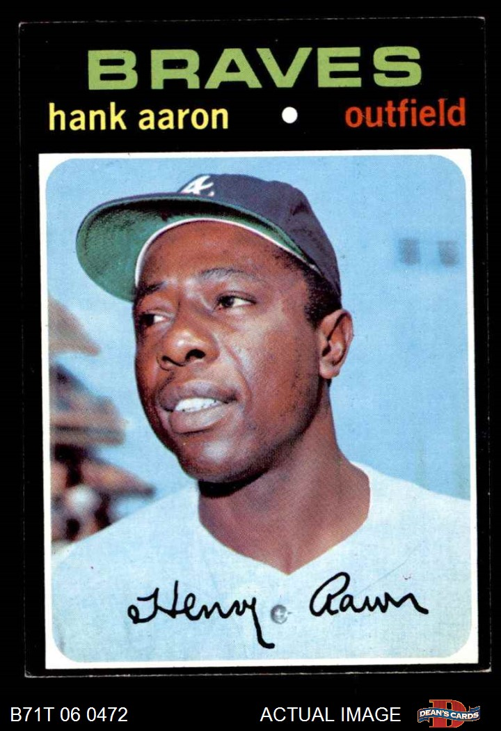 Sports Mem, Cards & Fan Shop Marv Staehle 1971 Topps Baseball Hi #663