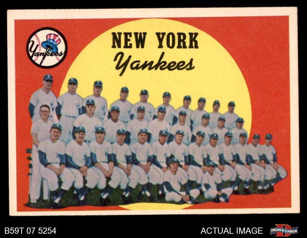 1959 Topps #552 Casey Stengel New York Yankees Baseball Card