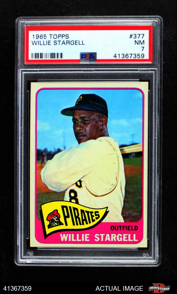 1965 Topps 1965 Topps Pittsburgh Pirates Team Set