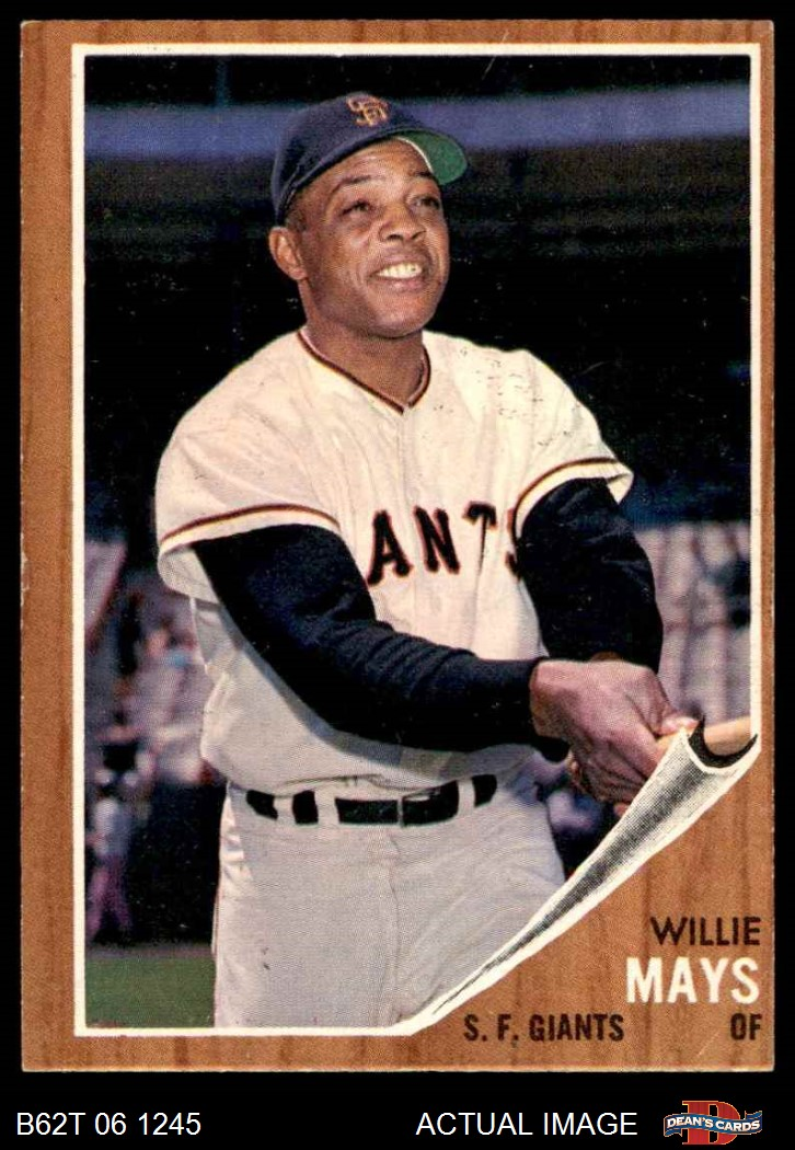 1962 Topps # 329 Bobby Bolin San Francisco Giants Baseball Card VG Giants