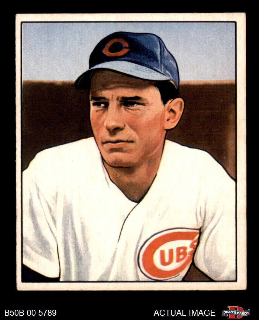 1950 Bowman 1950 Bowman Chicago Cubs Near Team Set