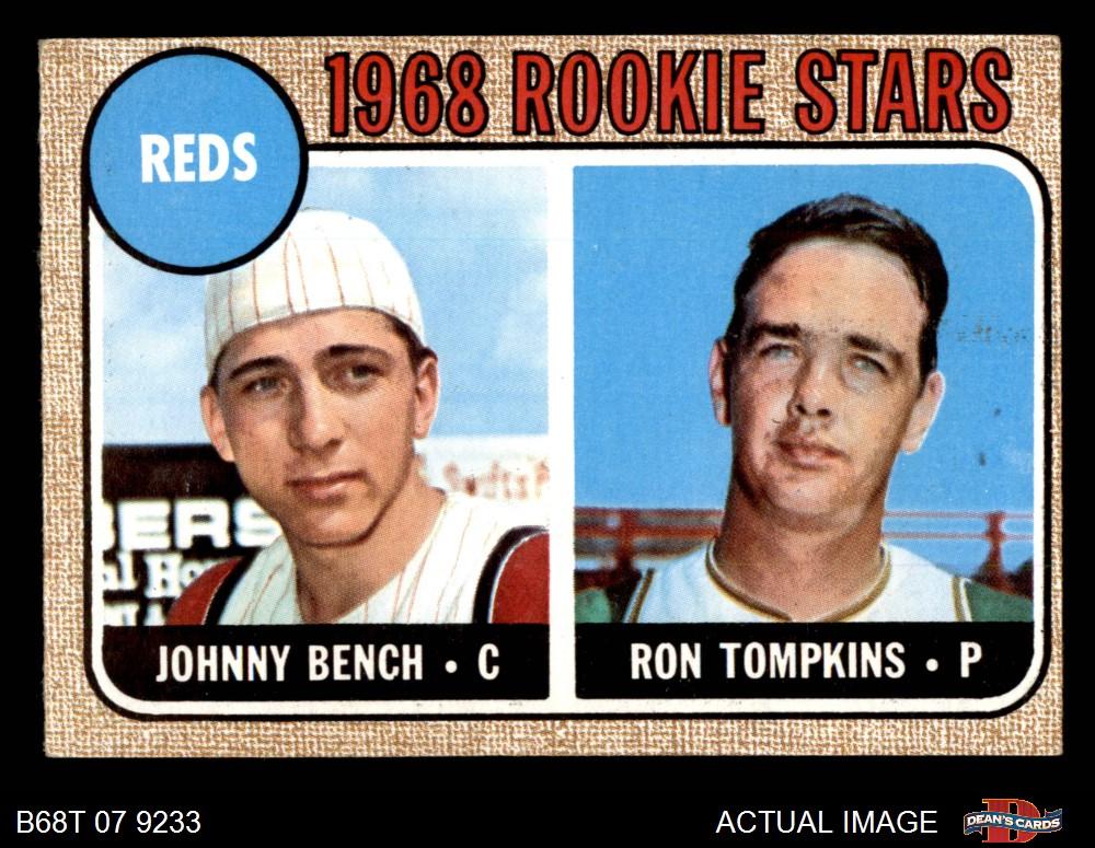 1968 Topps 1968 Topps Cincinnati Reds Team Set
