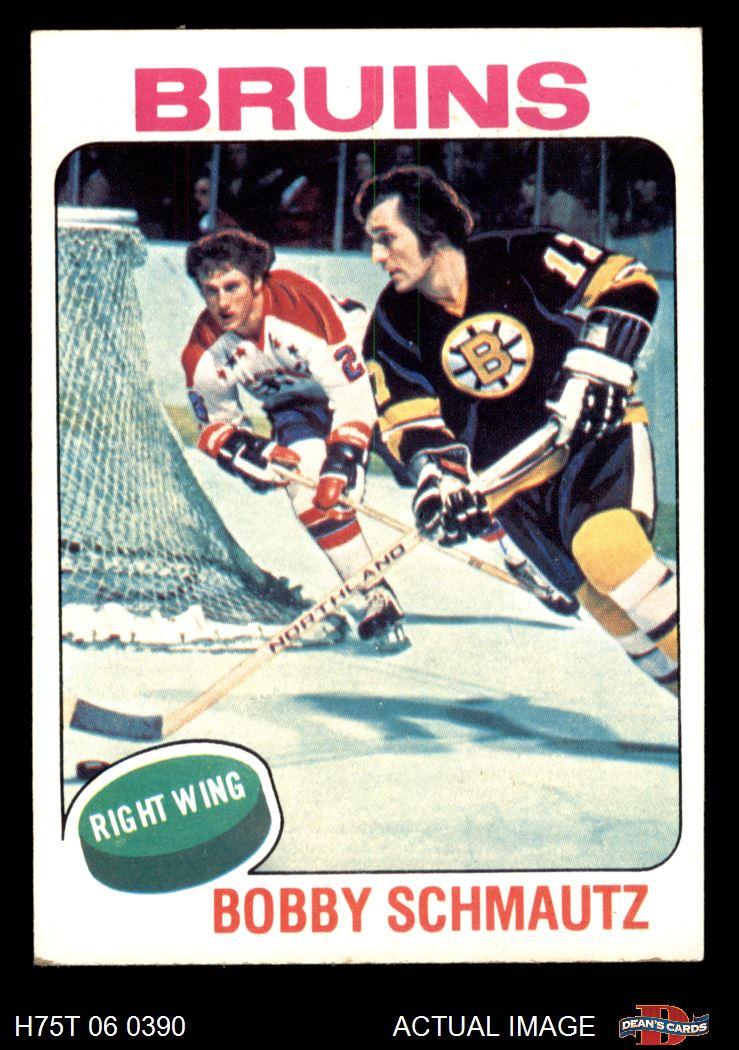 1975-76 Topps Boston Bruins Near Team Set 3.5 - VG+ | eBay Bruins Roster 1975