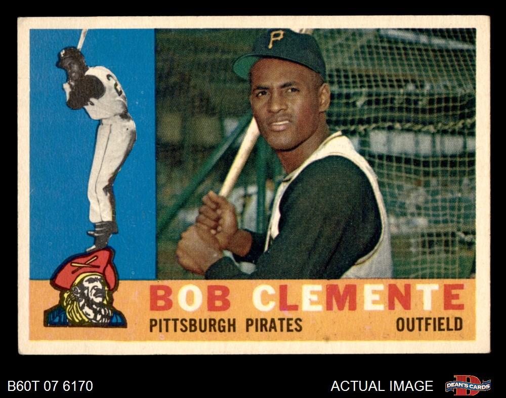 1960 Topps 1960 Topps Pittsburgh Pirates Team Set