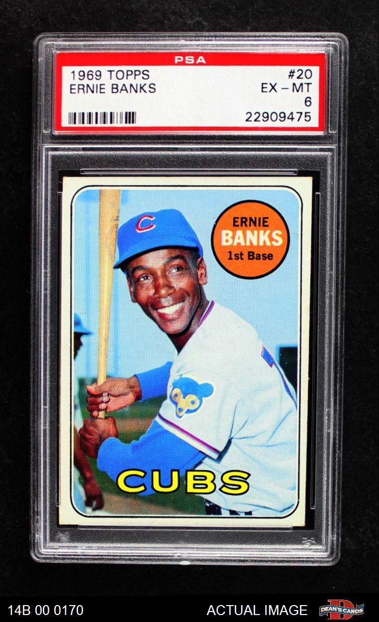 1969 Topps 1969 Topps Chicago Cubs Team Set