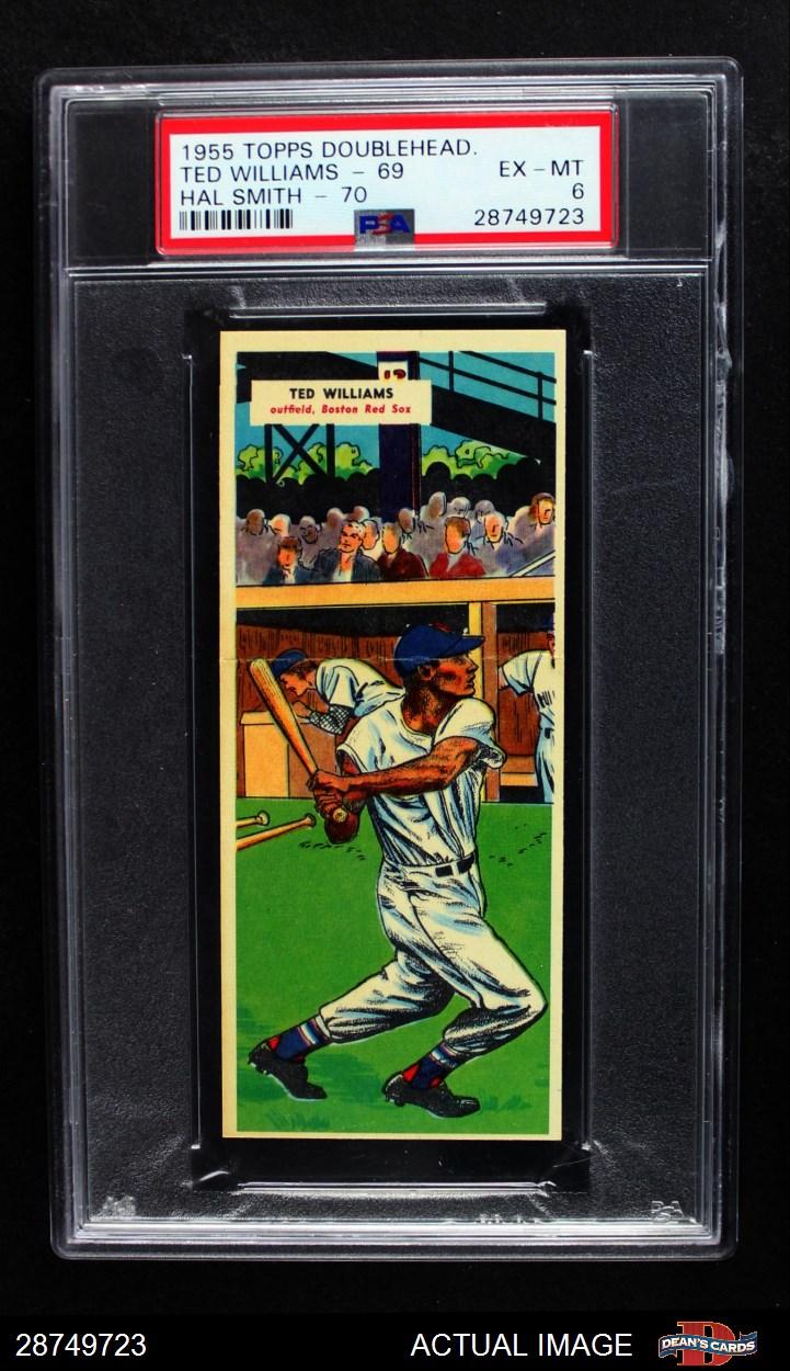 1955 Topps Doubleheaders Topps Double Header Baseball Complete Set 55 Ex