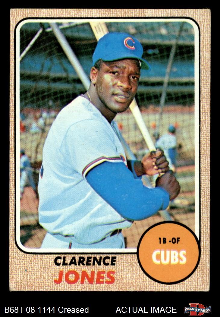 1968 Topps #542 John Boccabella Chicago Cubs Baseball Card