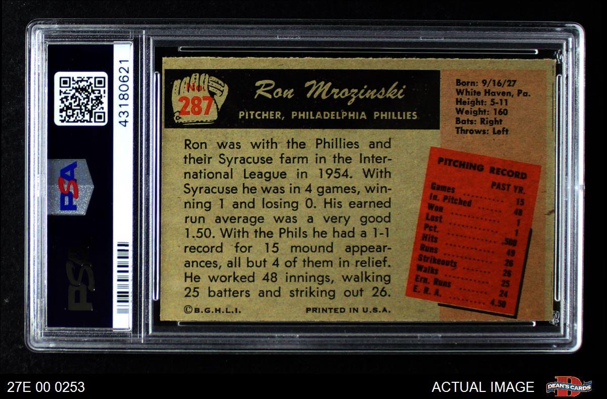 1955 Bowman #81 Bob Morgan Phillies EX//MT