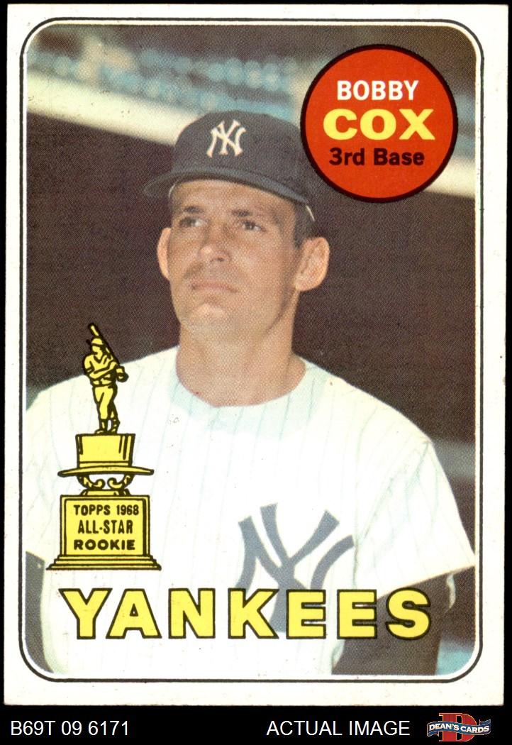 1969 Topps 1969 Topps New York Yankees Team Set