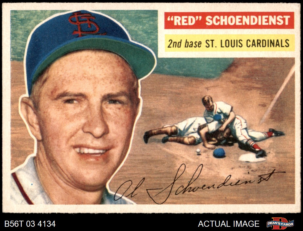 1956 Topps 1956 Topps St Louis Cardinals Team Set