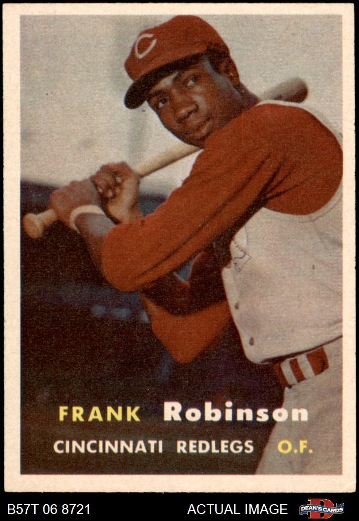1957 Topps #180 Gus Bell Cincinnati Reds Baseball Card