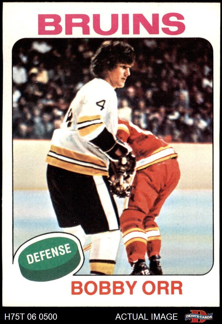 1975-76 Topps Boston Bruins Near Team Set 5.5 - EX+ | eBay Bruins Roster 1975