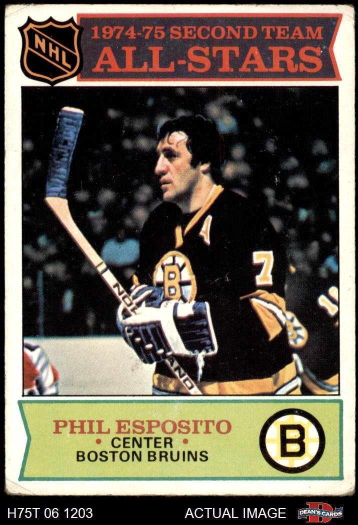 1975-76 Topps Boston Bruins Near Team Set 2.5 - GD+ | eBay Bruins Roster 1975