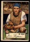 1952 Topps #17  Jim Hegan  Front Thumbnail