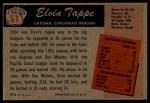 1955 Bowman #51  Elvin Tappe  Back Thumbnail