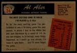 1955 Bowman #24  Al Aber  Back Thumbnail