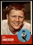 1963 Topps #379  Bob Anderson  Front Thumbnail