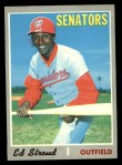 1970 Topps #506  Ed Stroud  Front Thumbnail