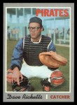 1970 Topps #626  Dave Ricketts  Front Thumbnail