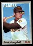 1970 Topps #639  Dave Campbell  Front Thumbnail
