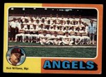1975 Topps #236   -  Dick Williams Angels Team Checklist Front Thumbnail