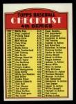 1972 Topps #378 STR  Checklist 4 Front Thumbnail