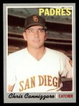 1970 Topps #329  Chris Cannizzaro  Front Thumbnail