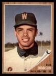 1962 Topps #519  Bob Johnson  Front Thumbnail