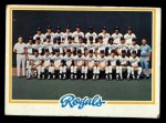 1978 Topps #724   Royals Team Checklist Front Thumbnail