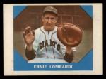 1960 Fleer #17  Ernie Lombardi  Front Thumbnail
