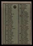 1979 Topps #669   Checklist 6 Back Thumbnail