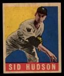 1948 Leaf #84  Sid Hudson  Front Thumbnail