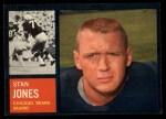 1962 Topps #18  Stan Jones  Front Thumbnail