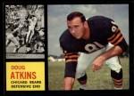 1962 Topps #21  Doug Atkins  Front Thumbnail