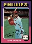 1975 Topps #574  Tony Taylor  Front Thumbnail