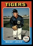 1975 Topps #245  Mickey Lolich  Front Thumbnail