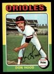 1975 Topps #516  Don Hood  Front Thumbnail