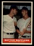 1961 Topps #393   -  Don Cardwell / Glen Hobbie Batter Bafflers Front Thumbnail