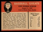 1961 Fleer #67  Bobo Newsom  Back Thumbnail