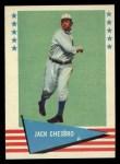 1961 Fleer #13  Jack Chesbro  Front Thumbnail