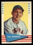 1961 Fleer #20  Paul Derringer  Front Thumbnail