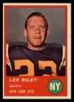 1963 Fleer #19  Lee Riley  Front Thumbnail