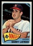 1965 Topps #307  Barry Latman  Front Thumbnail