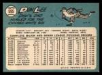 1965 Topps #595  Don Lee  Back Thumbnail