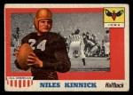 1955 Topps #6  Nile Kinnick  Front Thumbnail