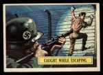 1965 Topps Battle #28   Caught While Escaping  Front Thumbnail